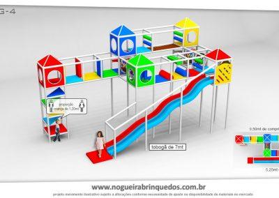 Brinquedão Kid Play Para Buffet Infantil Grande (11)
