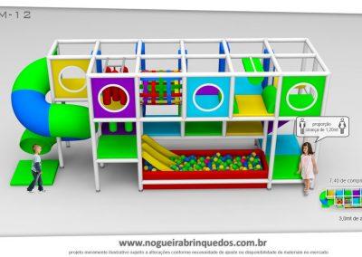 Brinquedão Kid Play Para Buffet Infantil Médio (13)
