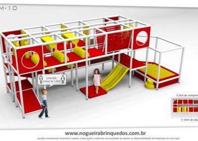 Brinquedão Kid Play Para Buffet Infantil Médio (2)