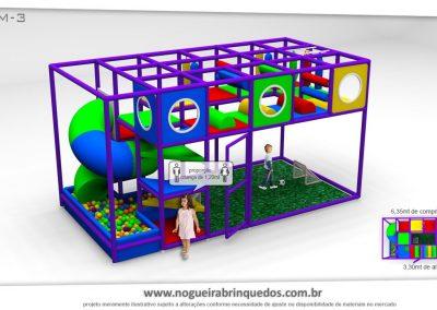Brinquedão Kid Play Para Buffet Infantil Médio (9)
