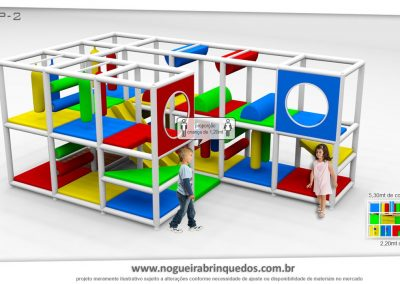Brinquedão Kid Play Para Buffet Infantil Pequeno (3)