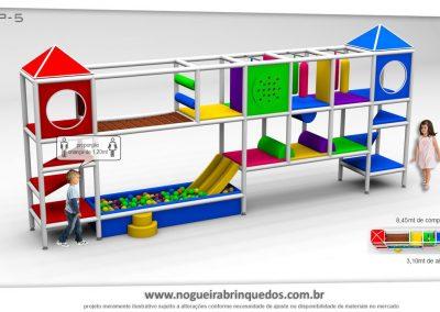 Brinquedão Kid Play Para Buffet Infantil Pequeno (6)