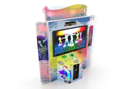 Arcade de Dança Dance Dance Simulador Jogo de Dança Just Dance Central Buffet Infantil Noguiera Entretenimento Brinquedos (1)