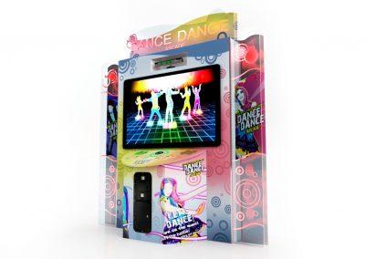Arcade de Dança Dance Dance Simulador Jogo de Dança Just Dance Central Buffet Infantil Noguiera Entretenimento Brinquedos (2)