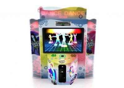 Arcade de Dança Dance Dance Simulador Jogo de Dança Just Dance Central Buffet Infantil Noguiera Entretenimento Brinquedos (3)